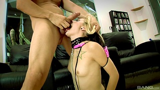 Closeup video of kinky slave girl Faye Escapee geting fucked by Jenny
