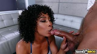 Sexual admiration surrounding a premium ebony mom