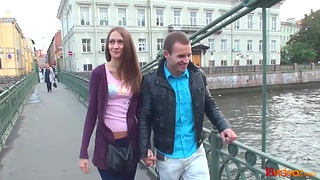 Amateur girl from St Petersburg  takes cumshots beyond everything bore beyond everything the first date
