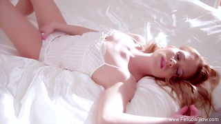 Quickening Redhead MILF Babe Sucking Like Perfect Couple