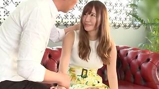 Asian amateur Kurokawa Sarina gets licked and fucked in missionary